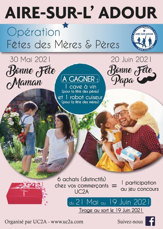 FÊTES DES MÈRES & PÈRES